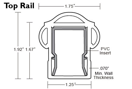 Arabian Railing - Top Rail Specs