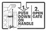 Auto-Latch Operation Diagram