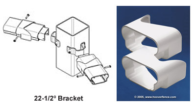 EverNew® Kingston 22-1/2° Bracket