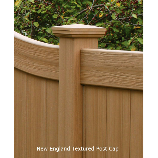 Chesterfield Victorian with CertaGrain Wood Texture Fence