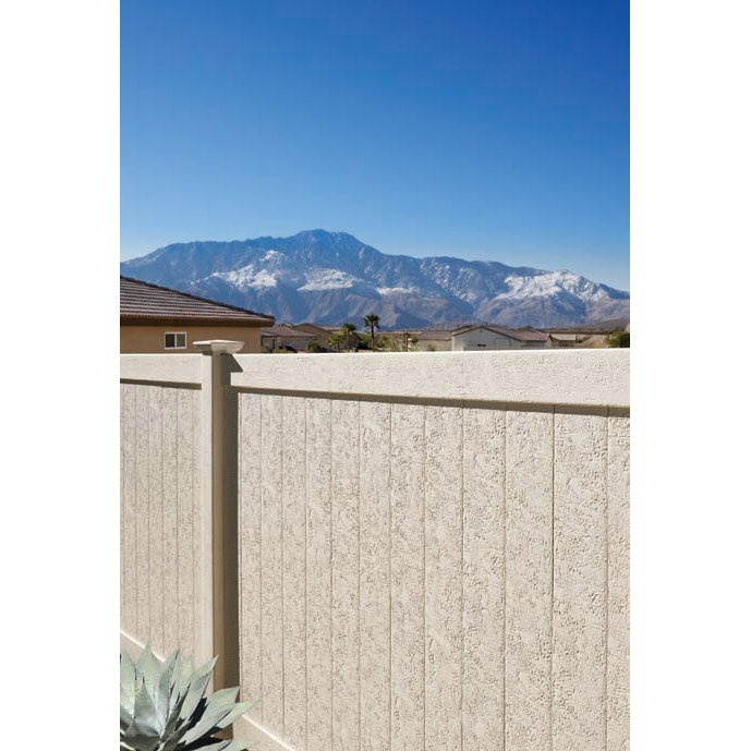 Chesterfield CertaStucco Fence