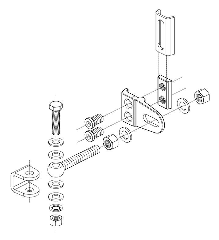 locinox regular duty hinge  4