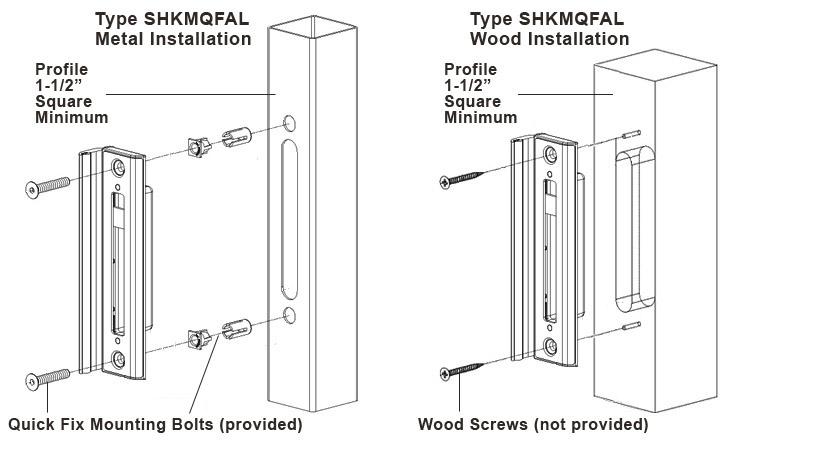 locinox gate lock instructions