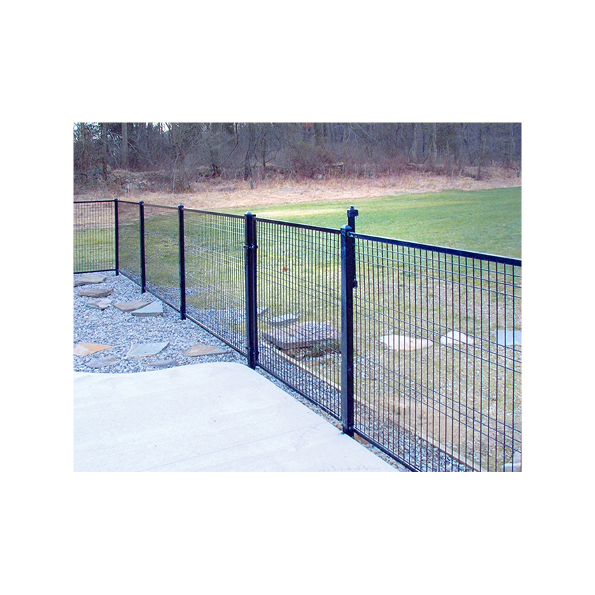 Jerith Patriot Steel Fence Section 4ga Vertical Hoover
