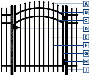 Jerith Residential Accent Gates - Specifications