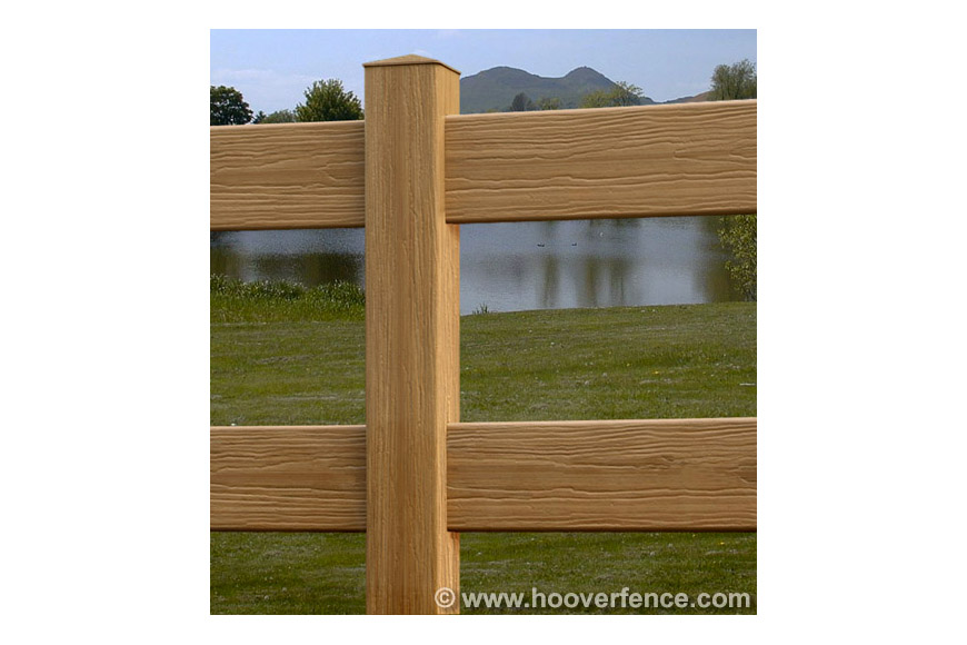 Large Rail CertaGrain Post & Rail Fence