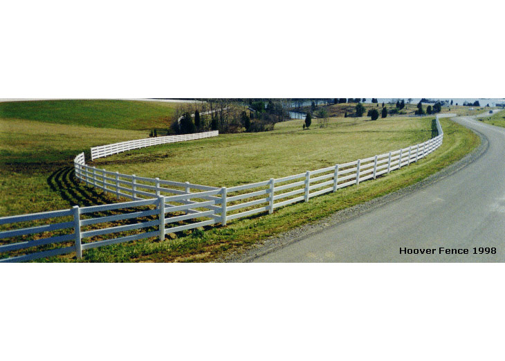 Large Post & Rail Fence