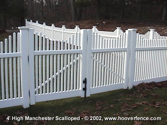 Manchester Concave Fence