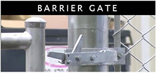 No-Dig Gate Holdback Barrier Gate Example