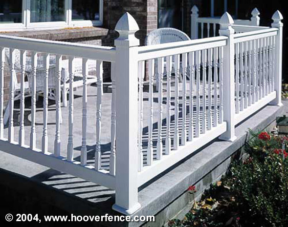 Oxford Railing Installation Photos