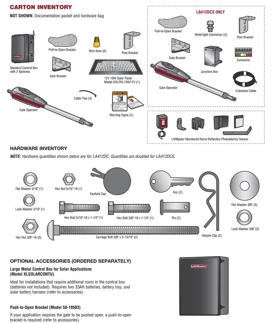 liftmaster solar powered single swing gate operator kit hoover rh hooverfence com