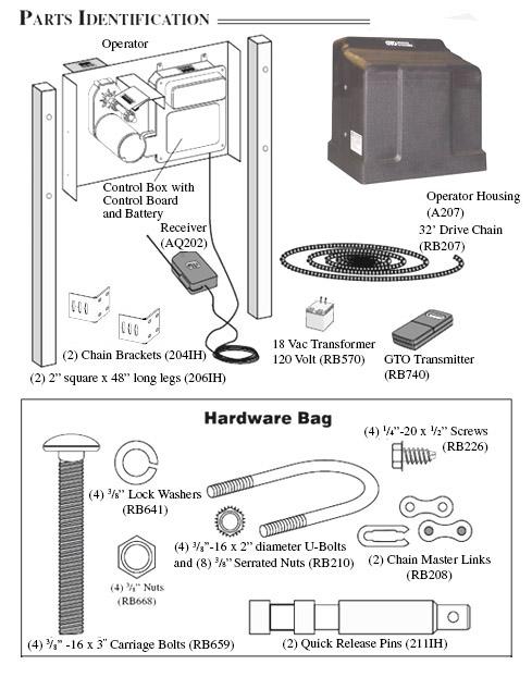 Gto 12v Slide Gate Operator 1000lb Capacity Hoover