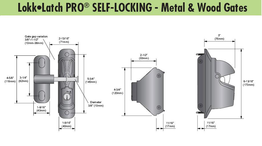 D Amp D Technologies Lokk Latch Pro Sl Self Locking For Vinyl