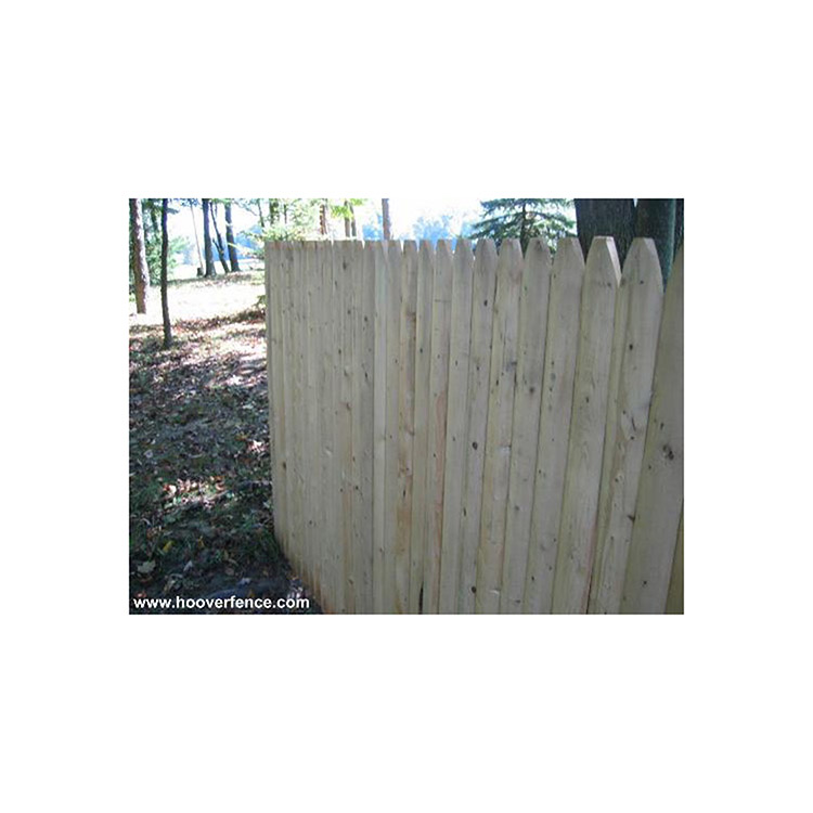 Spruce Stockade Privacy Fence