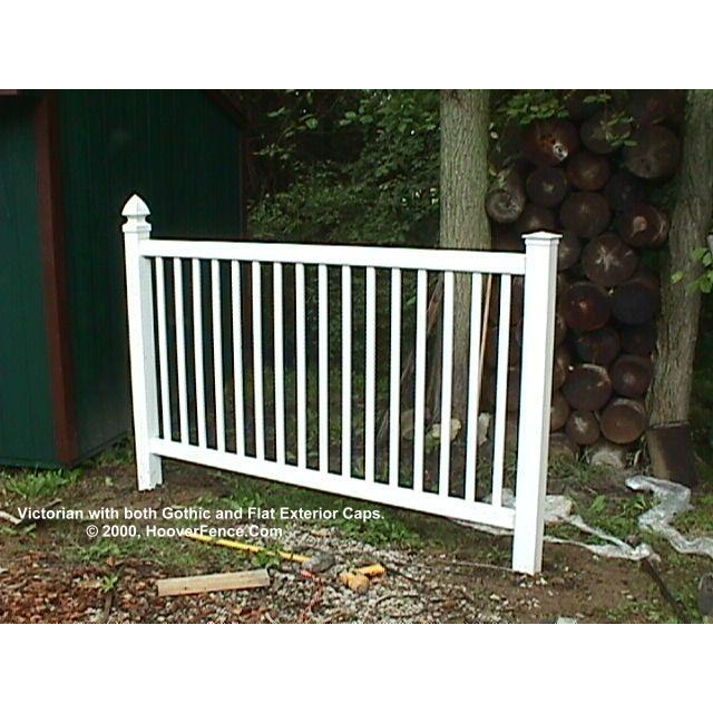 Bufftech Victorian Vinyl Fence Sections Hoover Fence Co