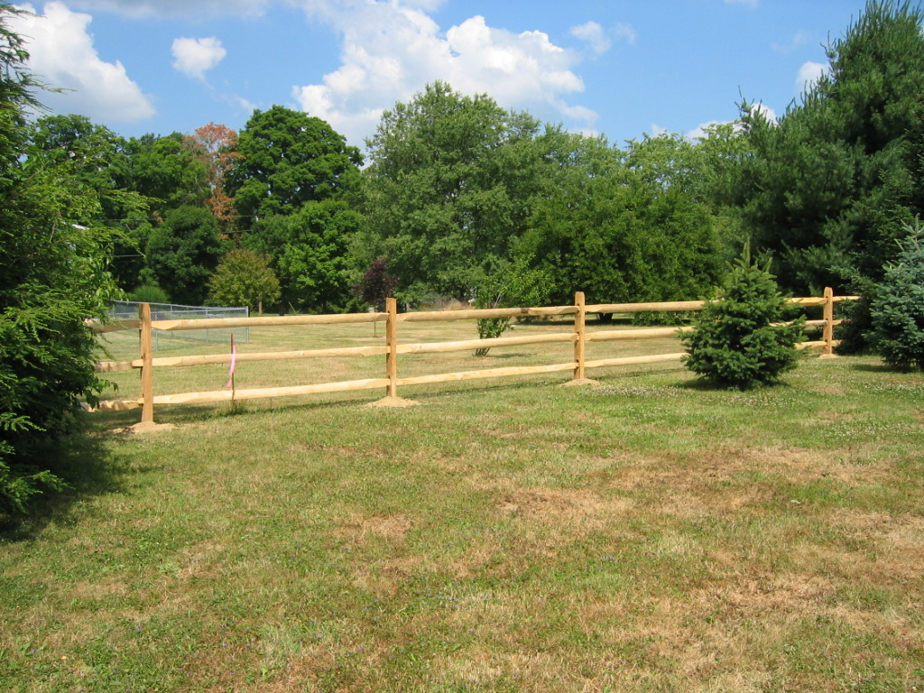 West Virginia Lap Rail Fence