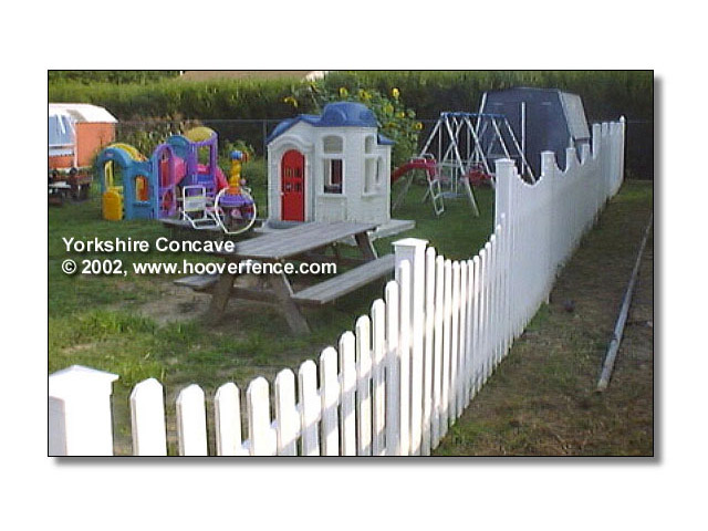 Yorkshire Concave Fence