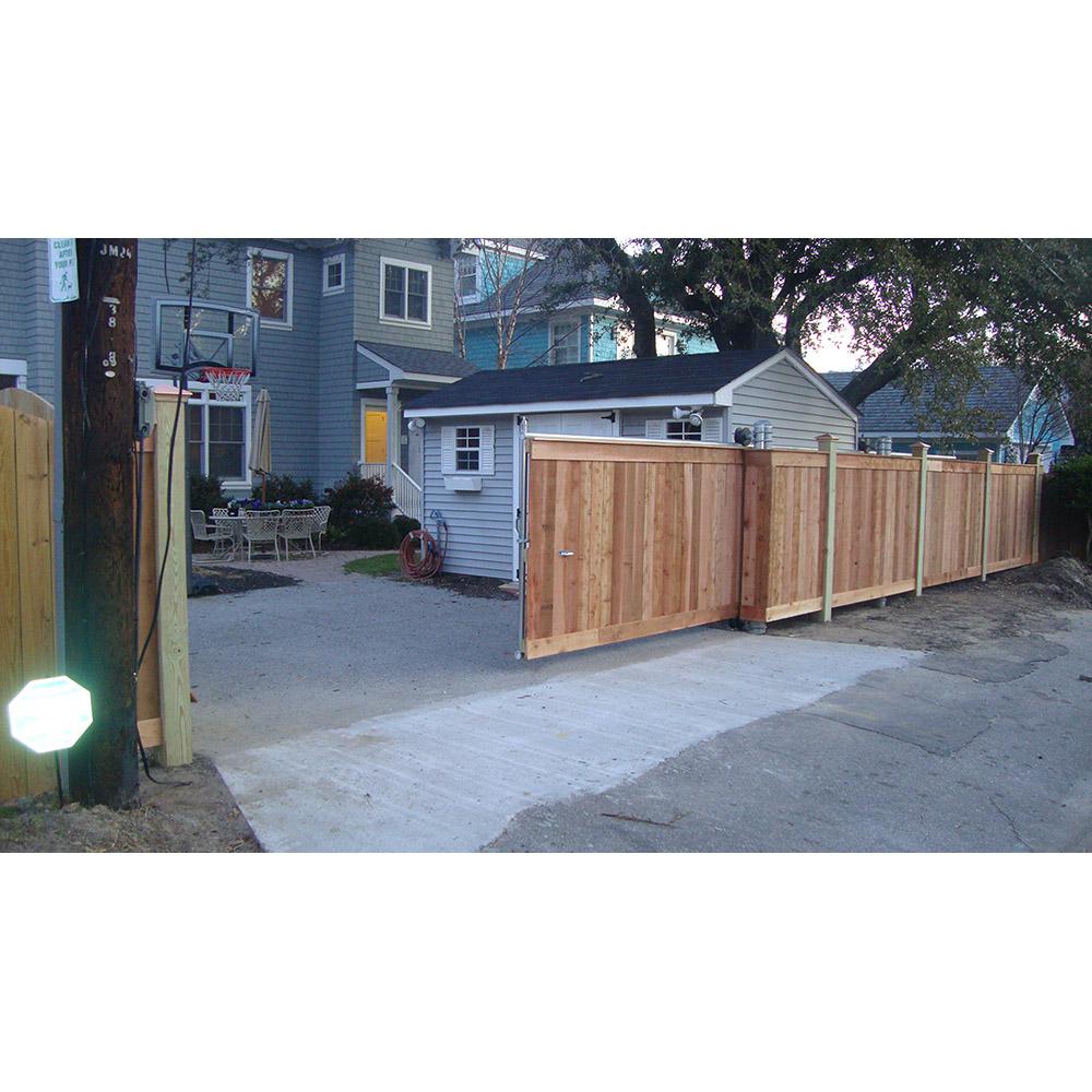Hoover Fence Chain Link Fence Steel Cantilever Slide Gates